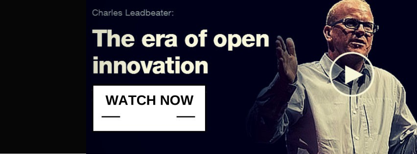 Charles Leadbeater the era of open innovation